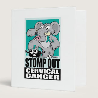 Stomp Out Cervical Cancer Binder