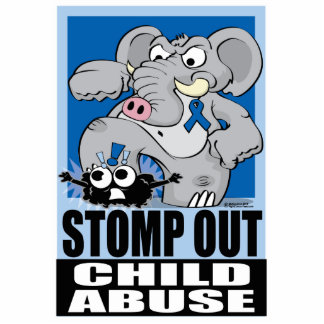 Stomp Out Child Abuse Statuette