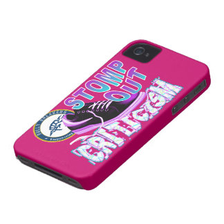 Stomp Out Criticism Anti-Bullying Product iPhone 4 Case-Mate Cases