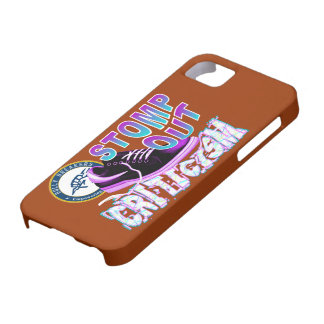 Stomp Out Criticism Anti-Bullying Product iPhone 5 Covers