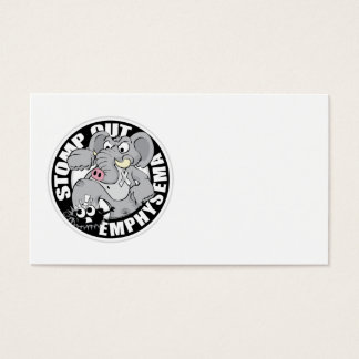 Stomp Out Emphysema Business Card