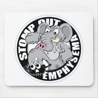 Stomp Out Emphysema Mouse Pad