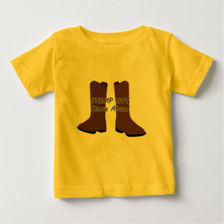 Stomp Out Horse Abuse Baby T-Shirt