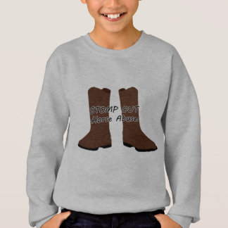 Stomp Out Horse Abuse Sweatshirt