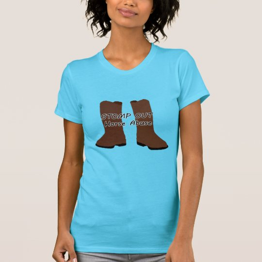 Stomp Out Horse Abuse T-Shirt