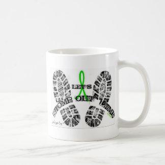 Stomp Out Lyme Classic White Coffee Mug