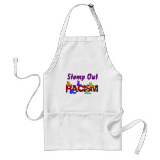 Stomp Out Racism Apron