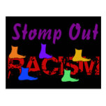 Stomp Out Racism Postcards