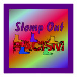 Stomp Out Racism Print