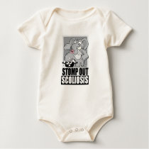 Stomp Out Scoliosis Baby Bodysuit