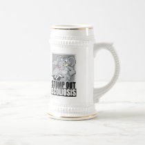 Stomp Out Scoliosis Beer Stein