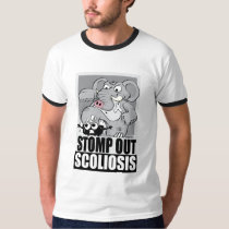 Stomp Out Scoliosis T-Shirt