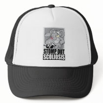 Stomp Out Scoliosis Trucker Hat