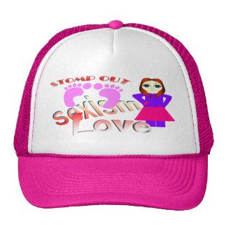 Stomp Out Sexism Love Women Mesh Hats