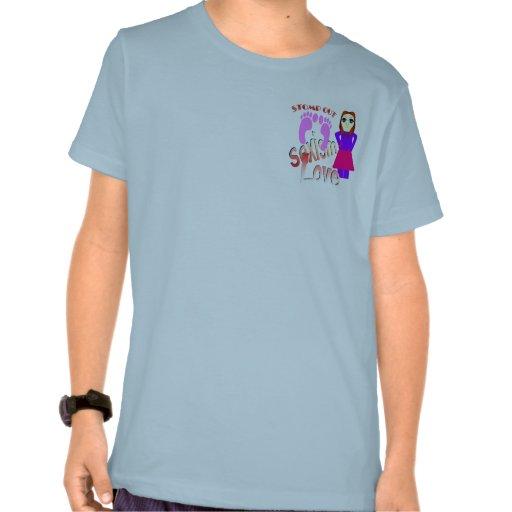 Stomp Out Sexism Love Women T-shirt