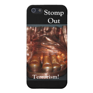 STOMP OUT TERRORISM...STATUE OF LIBERTY iPhone SE/5/5s CASE