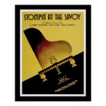 Stompin' At The Savoy Poster