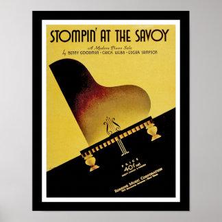 Stompin' At The Savoy Poster