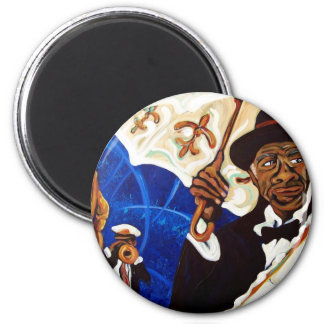 Stompin' Tchoupitoulas 2 Inch Round Magnet
