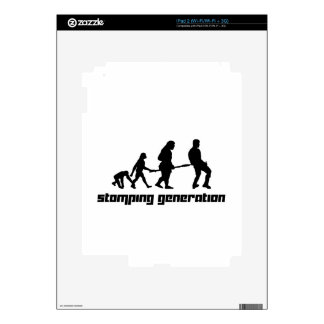 Stomping Generation iPad 2 Decal