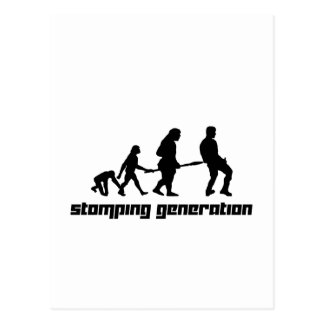Stomping Generation Postcard