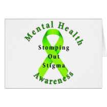 Stomping Out Stigma Card