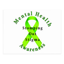 Stomping Out Stigma Postcard
