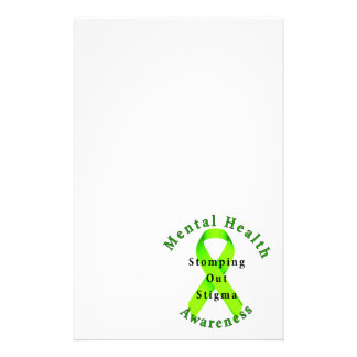 Stomping Out Stigma Stationery