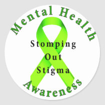 Stomping Out Stigma Stickers