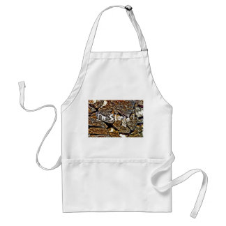 Stone Abstract Adult Apron