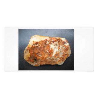 Stone Abstract Custom Photo Card