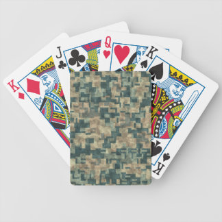 Stone Ancient. Nonsymmetric Stone Wall. Decorative Bicycle Playing Cards