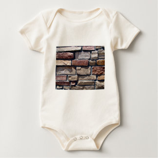Stone and Brick Wall Close-up Bodysuit