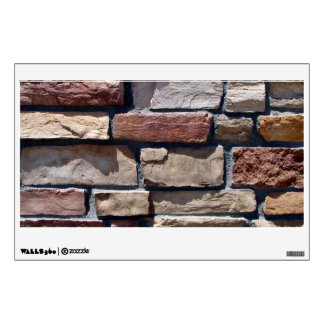 Stone and Brick Wall Close-up Wall Decal
