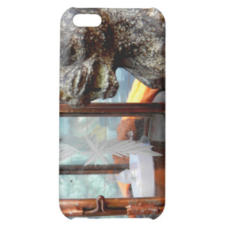 Stone and Copper Case For iPhone 5C