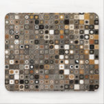 Stone and Copper Mosaic Mouse Pad
