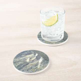 Stone and rock drink coaster