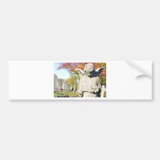 Stone angel bumper stickers