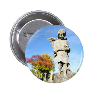 Stone angel button