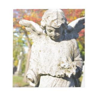 Stone angel notepad