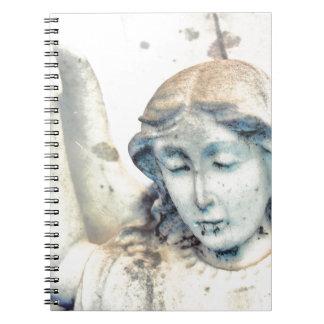 Stone angel portrait notebook