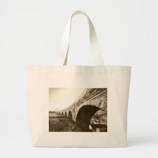 Stone Arch Bridge Canvas Bag