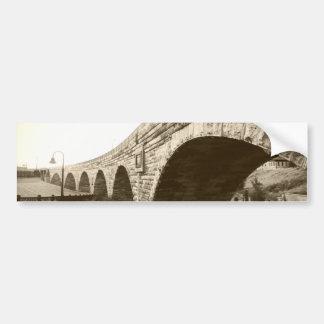 Stone Arch Bridge Bumper Sticker