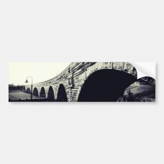 Stone Arch Bridge Car Bumper Sticker