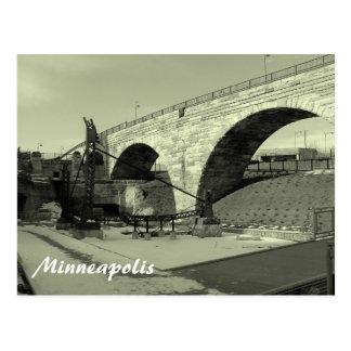 Stone Arche Bridge Postcard