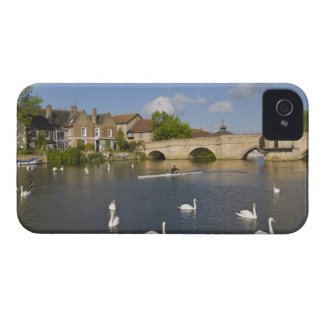 Stone arched bridge and River Ouse, St Ives, Case-Mate iPhone 4 Cases