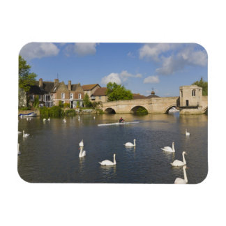 Stone arched bridge and River Ouse, St Ives, Magnet