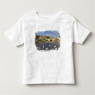 Stone arched bridge and River Ouse, St Ives, Toddler T-shirt