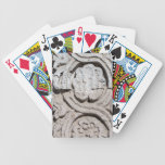 Stone art bicycle playing cards