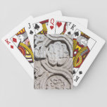 Stone art playing cards